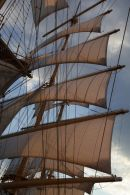 Puur Naturisme: Royal Clipper, zeilend